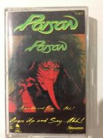 poison open up and say ahh cassette tape