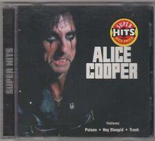 Super Hits ~ Alice Cooper ~ Hard Rock ~ Pop ~ CD ~ Used VG