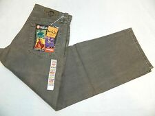 Fit: 31x30 New Wrangler Hero Wide Leg Stonewashed Denim Olive Jeans Tag: 32x30