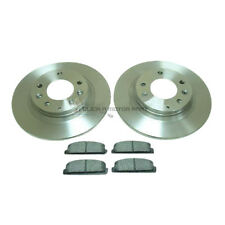 MAZDA 626 1.8 2.0 1998-2002 REAR 2 BRAKE DISCS AND PADS SET NEW