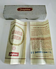 Vintage 1960s Junghans Box with Original Guarantee and Certificate