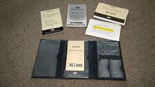 01 HYUNDAI XG300 OWNERS MANUAL OEM GUARANTEE 120-S-21