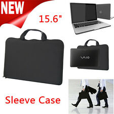 """15.6"""" inch NOTEBOOK LAPTOP SLEEVE BAG CARRY CASE COVER FOR APPLE iPAD HP TOSHIBA"""