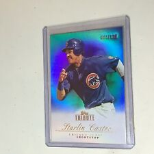 F52718  2012 Topps Tribute Blue #11 Starlin Castro Cubs /199