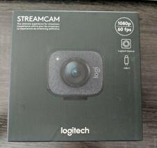 LOGITECH StreamCam Plus Webcam Graphite 1080p SEALED & NEW  **Quick Ship**