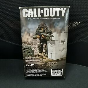 Mega Bloks Call of Duty Collector construction sets Ghillie Suit Sniper CNF09