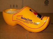 HEINEKEN BEER WOODEN SHOE / HOLLAND BEER