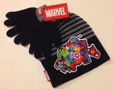 MARVEL AVENGERS MINECRAFT STYLE Hat & Gloves IRONMAN THOR CAPTAIN AMERICA HULK