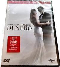 50 CINQUANTA SFUMATURE DI NERO (2 DVD) Edizione Speciale Doppio Disco