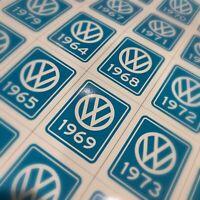 Volkswagen VW Stickers - Years (1950-1980)