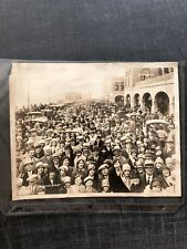 "ATLANTIC CITY NJ – Easter Sunday March 31st 1929  on Boardwalk 8x11"" Fred Hess"
