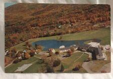 The Fallsview Resort Ellensville Catskills NY Exterior Bird Eye View Advertising
