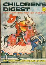 CHILDREN'S DIGEST February 1963 comic strips, Isaac Asimov