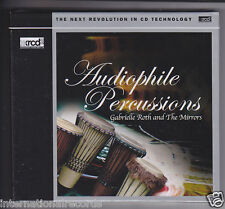 """""""Audiophile Percussions Vol.1 I"""" JVC Made in Japan Premium Records XRCD XRCD2 CD"""
