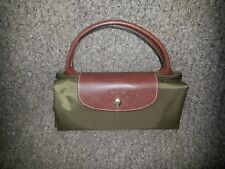 LONGCHAMP-Le Pliage Travel Duffle Bag Type L Weekender-New Khaki-NEW
