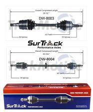 Daewoo Leganza FWD 1999-2002 Pair of Front CV Axle Shaft Assemblies SurTrack Set
