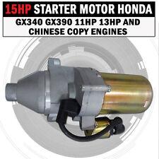 STARTER MOTOR FOR HONDA GX340 GX390 11HP 13HP AND CHINESE COPY ENGINES 12V NEW