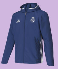 5+/5  Real Madrid adidas ORIGINAL AZ9234 Presentation Jacket 2016 Capuche ADIDAS