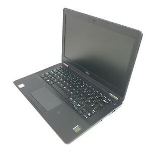 """Dell Latitude E7270 12.5"""" Laptop i5-6300U 2.4GHz 4GB DDR4 256GB SSD (No Battery)"""