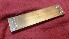 Magnetic Welding 3/8 thick Copper backer plate Mig Tig  Chevrolet Ford Mopar