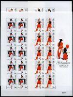 Gibraltar Kleinbogensatz MiNr. 834-37 postfrisch MNH Cept 1998 (CB472