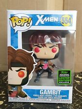 Funko Pop Vinyl - Marvel #554 Gambit Bo-Staff -New- Convention Exclusive - X-Men