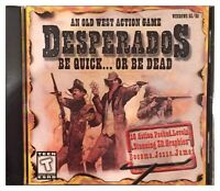 Desperados Be Quick or Be Dead Pc Brand New XP
