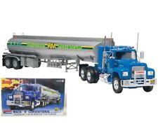R Mack Truck & Fruehauf Tanker Trailer  Snap Tite Kit Revell Monogram