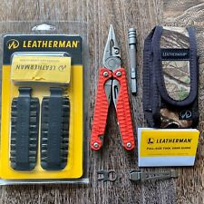 Limited Edition Leatherman Charge Plus Multitool RED G10, S30V Knife; MAX KIT!