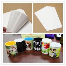 10 x T Shirt A4 Sublimation Paper Iron On Heat Press Light Fabrics Inkjet Print