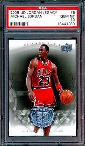 Michael Jordan 2009 Upper Deck UD Jordan Legacy #6 PSA 10 Gem Mint