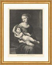 María con el niño jesús Raffael galería nacional de londres sagrada madera clave e 2199