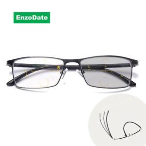 Transition Computer Sunglasses Progressive No Line Reading Glasses