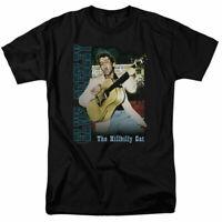 Elvis Presley Memphis T Shirt Licensed Rock N Roll Music Band Tee Black