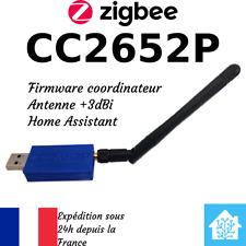 CC2652P - USB Zigbee Coordinator - 3dB antenna - Home Assistant Zigbee2MQTT