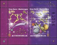 Montenegro 2009 Europa/Astronomy/Stars/Space/Planets/Science 2v m/s (me1009)