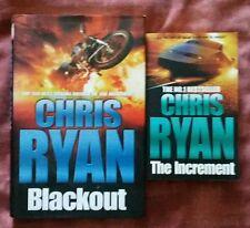 Chris Ryan Blackout 1st ed hb + The Increment unread pb