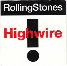 "Single 7"" - The Rolling Stones""Highwire / 2000 Light years from home (Live)"""