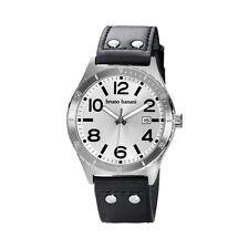 Bruno Banani Ares Men's Watch Bi4100301 Analogue Leather Black