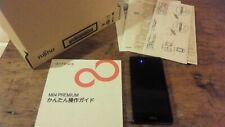 USED : Fujitsu Arrows M04 Premium, black, good condition, rugged phone