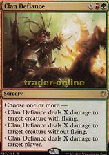 Clan Defiance (CLAN resistance) Commander 2016 Magic