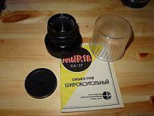 Russian Mir-1B wide-angle lens 2,8/37 mm M42 mount.Mint # 85075050. BEAUTY !