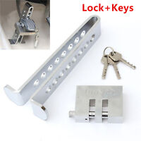 Car 8 Hole Stainless Steel Clutch Lock Brake Lock Security Lock Tool Anti-Theft