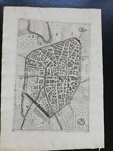 BOLOGNA MAPPA 1599 PIETRO BERTELLI