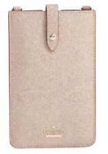 New Kate Spade glitter leather iPhone crossbody case Rose Gold Beautiful