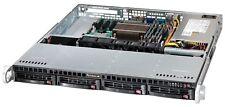 UXS Server 1U Supermicro X9SCM-F AES-N Xeon E3-1270 V1 3.4Ghz 32GB 4x Tray RK