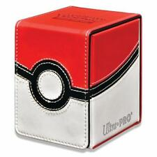 Pokemon Alcove Flip. POKE BALL ALCOVE FLIP DECK BOX