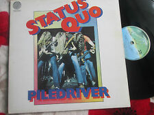Status Quo – Piledriver Vertigo – 6360 082 UK Vinyl LP Gatefold Sleeve Album