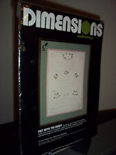 Dimensions Felt with the Heart Sample Candlewicking Kit NEW