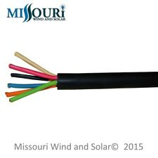 30 Foot Length 3-Phase Wind Turbine Cable High Output 12/6 Tag #18